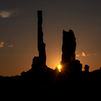 Sunrise at the Totem Pole