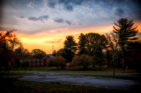 Sunrise at Harrisburg State Hospital grounds